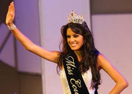 Sandra Vinces Pinoargote, Miss Ecuador 2009.